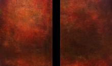 rouge abstrait